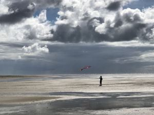 Wechselhaftes Wetter am Wattenmeer
